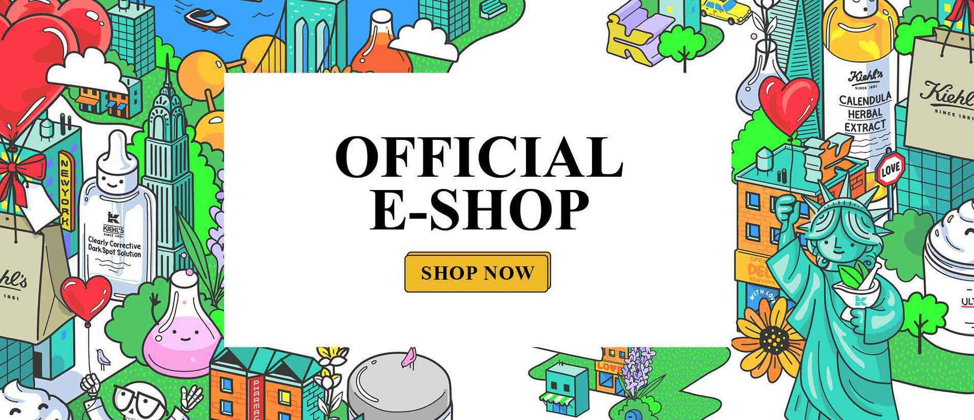 Kiehls E-Shop