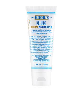 藍色草本潤膚乳