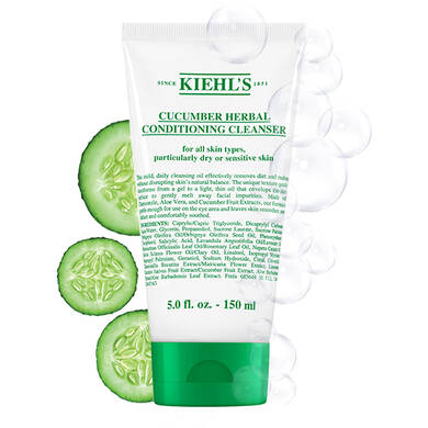 Cucumber Herbal Conditioning Cleanser with Soothing Sensation