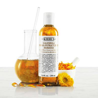 Calendula Herbal-Extract Alcohol-Free Toner