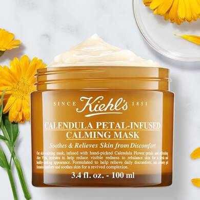 Calendula Petal-Infused Skin-Calming Mask