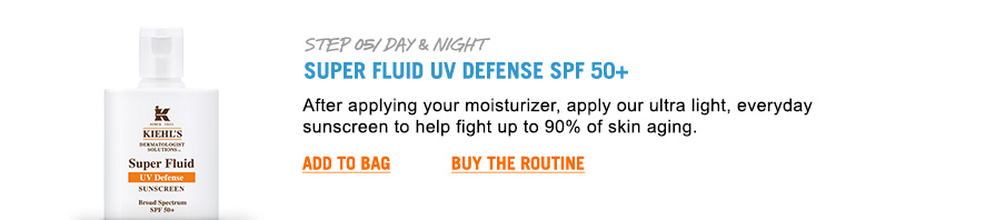 Super fluid UV defense SPF 50+