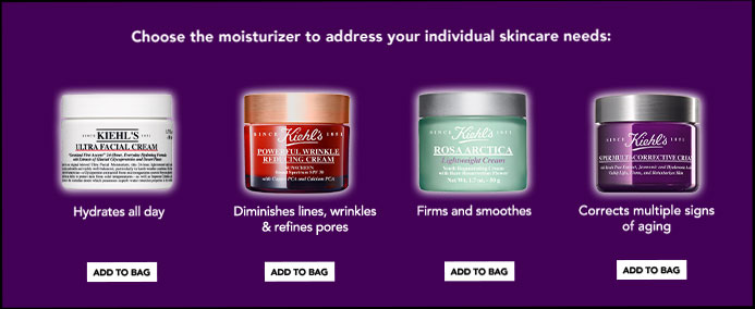 Choose the moisturizer to address your individual skincare needs